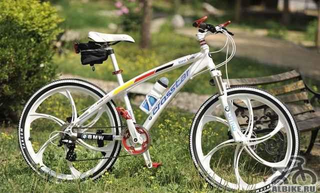 Брендовые велосипеды на литых дисках