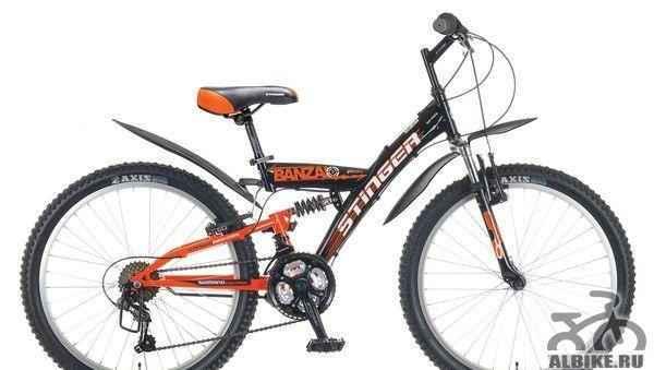 Велосипед 24 стингер Горный арт. Х50804-К