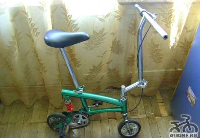 Необычный взрослый велосипед
