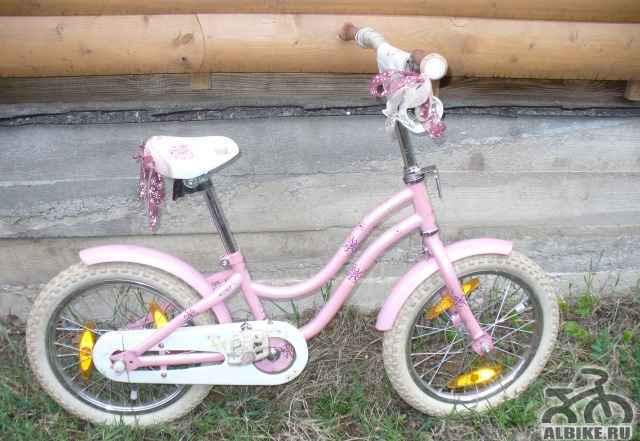 Велосипед для девочки трек mystik 16