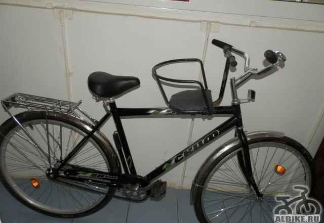 Велосипед, детское сиденье В подарок