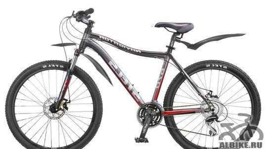 Велосипед Стелс Навигатор 670. Дисковые тормоза