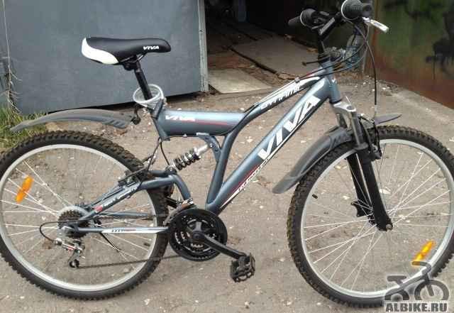 """Велосипед 26"""" 21-скорость вива горный двухподвес"""