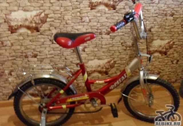 Детский велосипед фрегат почти новый