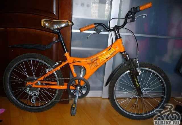 Детский велосипед атом Матрикс 200