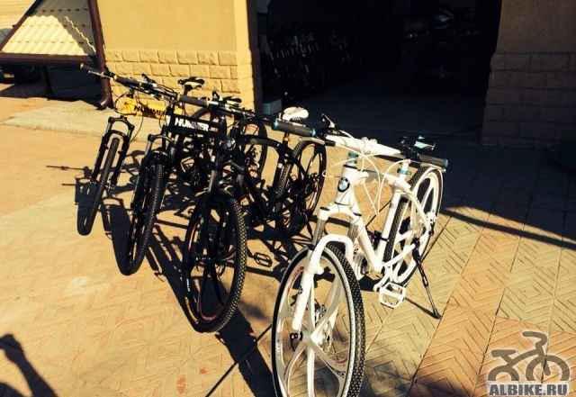 Продажа горных велосипедов и БМВ на литье