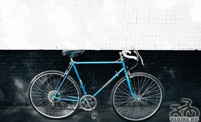 Винтажный советский велосипед Турист (хвз) рама